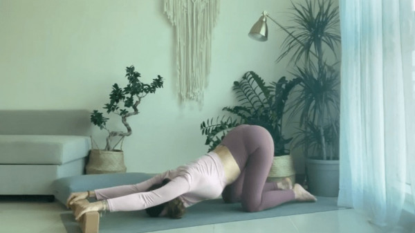 Yin Yoga For Shoulder & Neck Tension